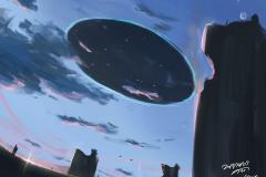 背景ワンドロ-明け方